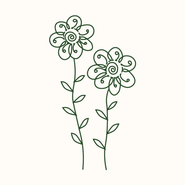 Dvě květiny