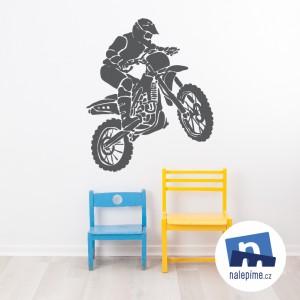 Jezdec na motorce