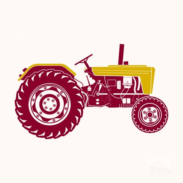 Starý traktor