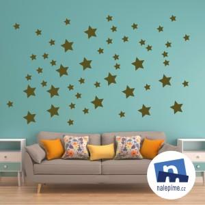 Jednobarevné hvězdičky