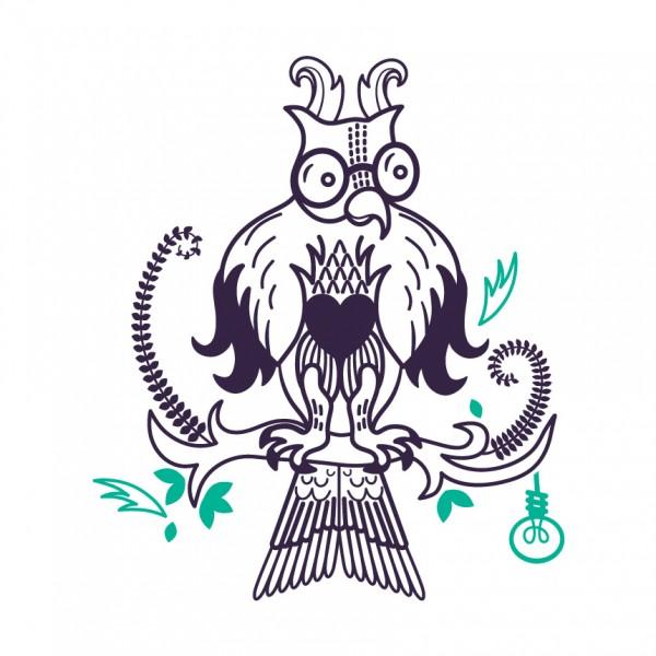 Moudrá sova