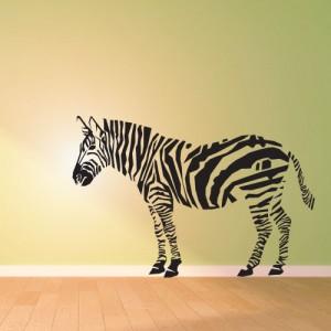 Zebra ostře řezaná
