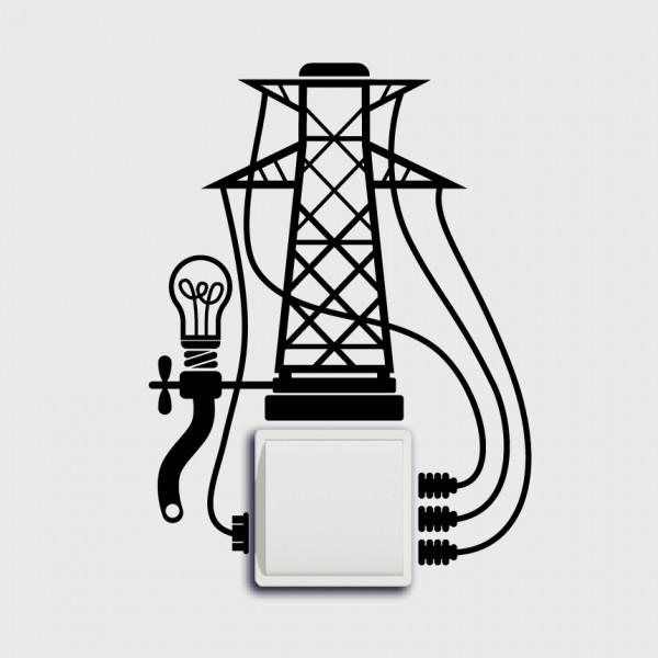 Stožár na vypínač